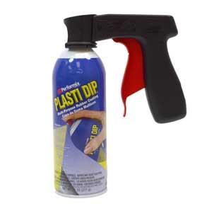 Spray Can Gun on aerosol can